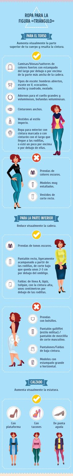 This is a four-part infographic on dressing depending on your body shape. Make the best of the body you have - do what you can, let go of the rest! Michelle Trachtenberg, Moda Mania, Pear Shape Fashion, Pear Shaped Outfits, Triangle Body Shape, Body Positivity, Look Body, Pear Body, Claire Danes