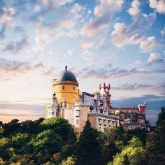 Pena National Palace, Sintra, Portugal.