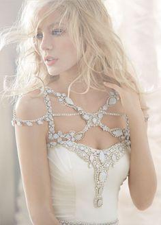 Hayley Paige; such a unique design!!!