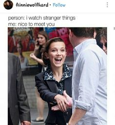 Comment if you are a Stranger Things fan 💕 Stranger Things Have Happened, Stranger Things Funny, Stranger Things Netflix, Stranger Things Season, Saints Memes, Prince Charmant, Should I Stay, Stranger Danger, Stranger Things Aesthetic