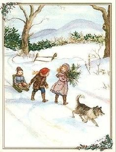 Tasha Tudor Christmas Art