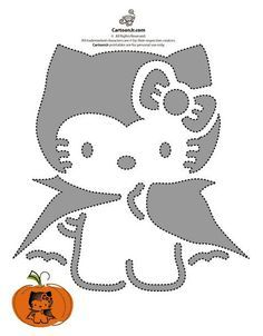 28 Cat Pumpkin Stencils for the Ultimate Halloween Jack-o-lantern ...