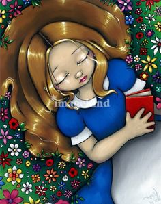 Alice Dreaming by Jasmine Becket-Griffith
