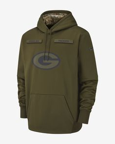 010a213da70 Nike Therma Salute to Service (NFL Packers) Men s Hoodie