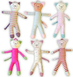 Organically Baby - Under The Nile Scrappy Cats, $12.95 (http://www.organicallybaby.com/under-the-nile-scrappy-cats/)