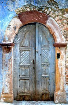 Vessa, Chios, Greece door