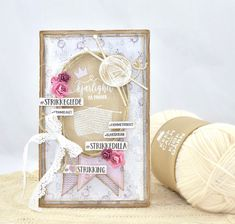 Cathrines hjerte Card Ideas, Place Cards, Place Card Holders, Frame, Home Decor, Picture Frame, Frames, A Frame, Home Interior Design