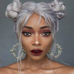 ROSE WREATH. Floral Earrings - Silver
