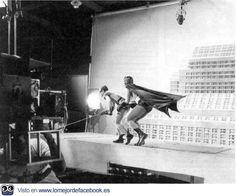 Detrás de las cámaras. Las fotos más épicas de la historia del cine. - BATMAN