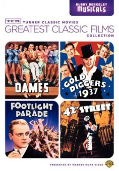 TCM Greatest Classic Films: Busby Berkeley Musicals DVD