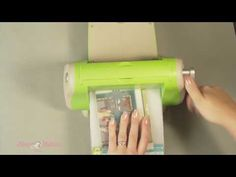 How To Make Your Own Embossing Folders for the Cuttlebug! - YouTube
