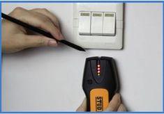 Detector de cabluri ieftin: Acest detector de metale este foarte util înainte sau după renovare, atunci când nu ști unde sunt ascunse prin ziduri diverse țevi, cabluri electrice sau chiar și șuruburi. A fost conceput ca un detector de cabluri și țevi, nu cred că vei putea găsi comori cu el. Detectorul poate să simtă metalele la maxim 2 cm distanță în pereți și te va anunța prin semnal acustic și luminos de prezența acestora. Funcționează cu o baterie de 9V. Metal, Metals