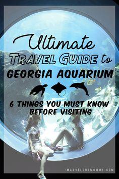 Ultimate Travel Guide to Georgia Aquarium for an Epic Spring Break Trip! 6 things you must know before your visit! #AtlantaAttraction #AtlantaStaycation #ExploreAtlanta