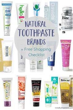 Best Natural Toothpaste Brands For Everyone in the Family - zahnpasta Best Natural Toothpaste, Organic Toothpaste, Toothpaste Brands, Best Toothpaste, Kids Toothpaste, Flouride Free Toothpaste, Healthy Toothpaste, Sls Free Toothpaste, Food Grade Hydrogen Peroxide