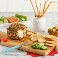 Boule au fromage, prosciutto et noix - Entrées et soupes - Recettes 5-15 - Recettes express 5/15 - Pratico Pratique