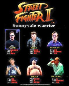 Street Fighter Trailer Park Boys. This is so great but needs some Cory and Trevor guys!