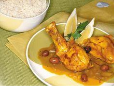 Arabisches Huhn mit Oliven
