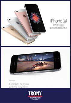iPhone SE disponibili in Store da TRONY Rigamonti | Rigamonti Dalmine