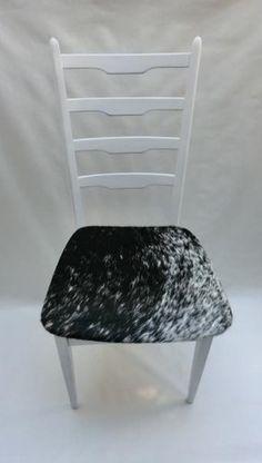 KUHIE®, Kuhfellstuhl in schwarz-weiß