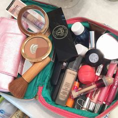 The Newly: What's in My Makeup Bag