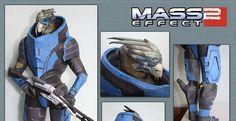 Mass Effect 2 Garrus Vakarian Paper Model