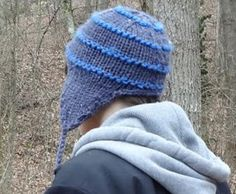 <strong>...FREE PATTERN...Super Simple Snowboarding Earflap Hat...</strong> |Affectioknit