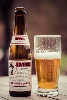 26 Livinus Blonde. Beer Bar, Drink Beer, Blond, Keep Calm And Drink, Drink Signs, Beer Brands, Cream Soda, Beer Lovers, Root Beer