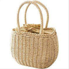 f310b6521cc Beroemde designer dames geweven brei messenger crossbody tassen nieuwe  zomer meisjes bohemien vrouwen kwastje straw kleine strand handtas.