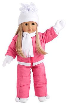 Let-It-Snow-Doll-Clothes-for-18-American-Girl-Snowsuit-Hat-Scarf-Mittens-Boot