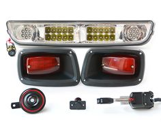 Halogen & Street Legal LED Light Bar Kit for EZGO TXT Golf Carts | Easy installation | FREE SHIPPING! | NO TAX in 48 States! | Shop Today!