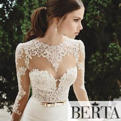 27 Wedding Dresses with Stunning Back Details from 2015 Bridal Market - Praise Wedding
