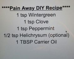 Pan Away DIY Recipe