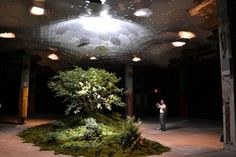 The Lowline is a park that is being proposed for an abandoned underground trolley terminal in NYC.