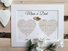 Wedding gifts for parents, UNFRAMED Parents of the Bride Gift, Mother of the Bride, Thank you Wedding Gifts for Parents, Unique Gifts – Wedding Shoes 45th Wedding Anniversary Gifts, Wedding Gifts For Parents, Anniversary Gifts For Parents, Husband Anniversary, Gift Wedding, Wedding Bride, Wedding Cakes, Thank You Gift For Parents, Bride And Groom Gifts