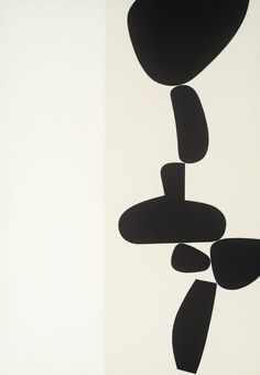 Artwork page for '[no title]', Victor Pasmore, 1971 Black And White Painting, White Art, Black White, Abstract Expressionism, Abstract Art, Victor Pasmore, Art Blanc, Modern Art, Contemporary Art