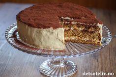 Gelatin, No Bake Cake, Tiramisu, Cake Recipes, Baking, Ethnic Recipes, Desserts, Cakes, Food