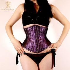 f8a051eb515 Find More Bustiers  amp  Corsets Information about Annzley Corset 2018 Steel  Boned Waist Slimming Underbust