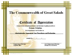 A printable certificate of appreciation with a basketweave border and a background image of a receptionist, secretary, or administrative assistant. Free to download and print