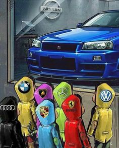 High Power Cars - Power Is Never Enough Nissan Skyline R33, Nissan Gtr Nismo, Gtr R35, R34 Skyline, Nissan Gtr Wallpapers, Carros Audi, Funny Car Memes, Bmw Boxer, Car Drawings