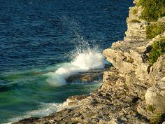 Waves. Lake Huron, Canada. Check!