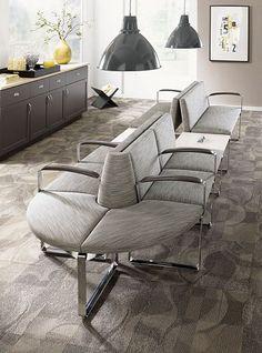 New waiting room ideas, maybe? Carolina Commons Modular Seating