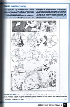Rat Creature's Journal - a couple more scans from Wizard How To Draw: Storytelling