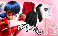 Miraculous Ladybug outfits - How to dress up like Miraculous Ladybug and Marinette Miraculous Ladybug Queen Bee, Marinette Doll, Doll With Hair, Face Mold, Super Hero Outfits, Cute Girl Drawing, Cat Pillow, New Dolls, Down Hairstyles