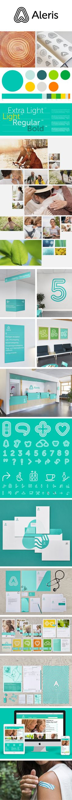 More corporate-designs are collected on: https://pinterest.com/rothenhaeusler/best-of-corporate-design/ · Agency: Bold · Client: Aleris · Source: http://www.boldscandinavia.com/work/aleris/ #branding #identity #corporatedesign