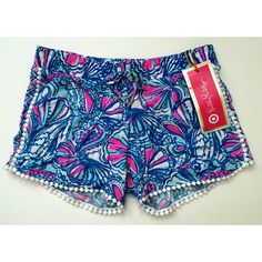Lilly Pulitzer Shorts Paisley shorts from Target's collaboration with Lilly Pulitzer. Brand new, never worn. Tag is marked wrong as a L but they are definitely either xs or small. Lilly Pulitzer for Target Shorts Bermudas