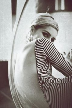 edie sedgwick in stripes