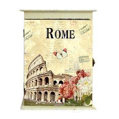 Κλειδοθήκη Rome  Τιμή: €15,60 http://www.lovedeco.gr/p.Kleidothiki-Rome.845072.html