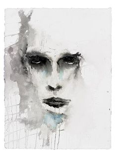 Painting by Marilyn Manson...love this artworks