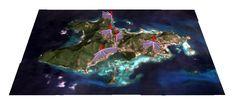 island optimal locations