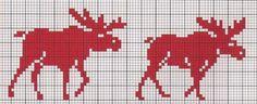 "Photo from album ""Жаккард"" on Yandex. Cross Stitch Alphabet, Cross Stitch Animals, Cross Stitch Embroidery, Embroidery Patterns, Cross Stitch Patterns, Knitting Charts, Knitting Patterns, Fair Isle Chart, Motifs Animal"